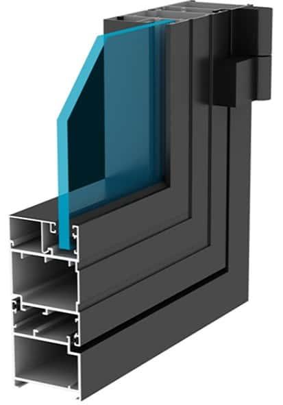 cấu tạo cửa nhôm xingfa