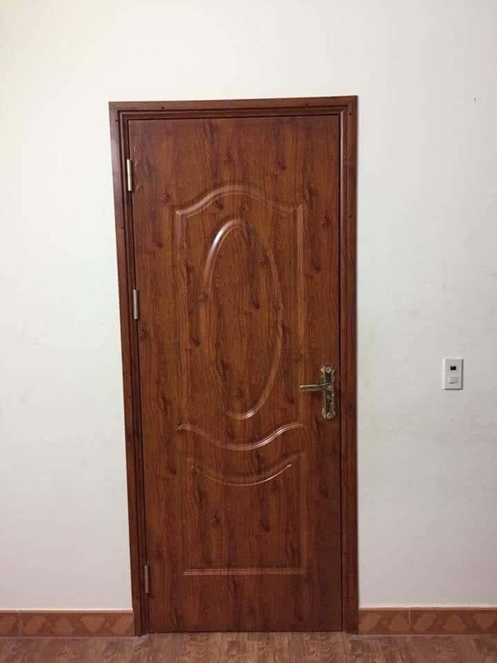 cửa nhôm giả gỗ cao cấp