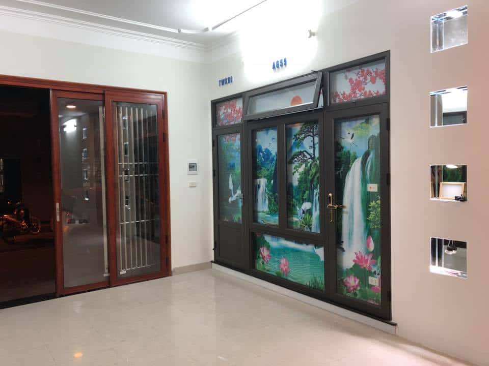 Cửa nhôm hệ AG Zhongkai