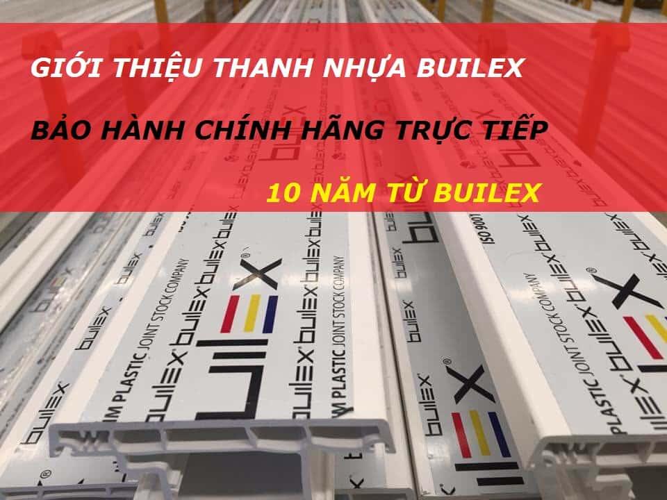 thanh nhựa Builex
