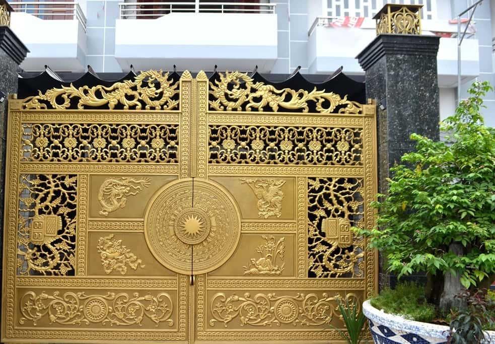 cổng biệt thự đẹp