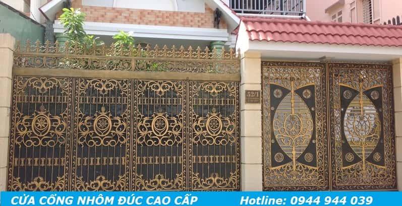 mẫu cửa cổng nhà đẹp