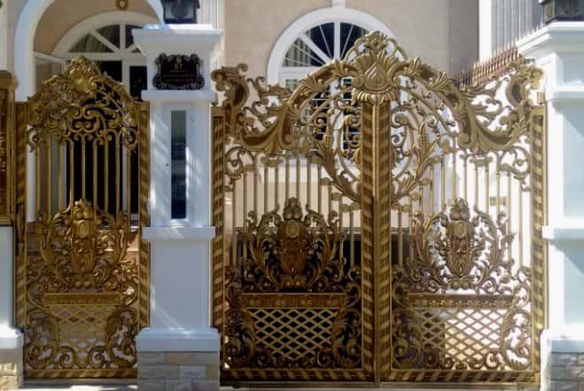 mẫu cửa cổng đẹp