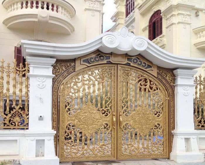 cửa cổng đẹp