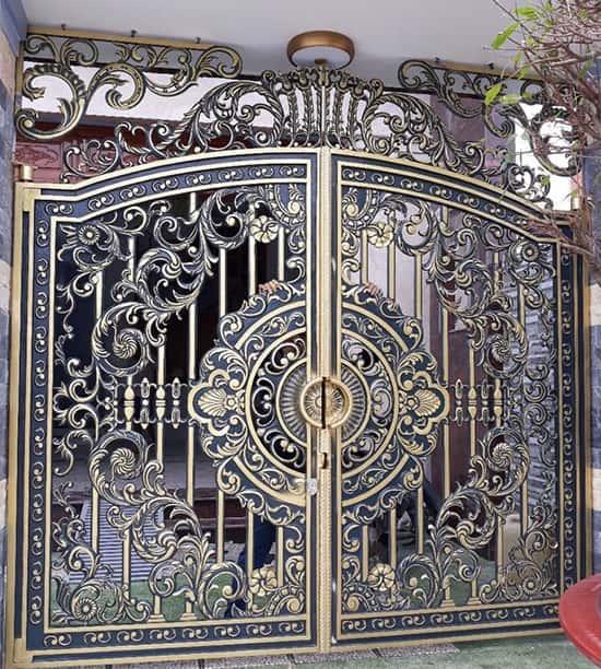 cổng hợp kim nhôm