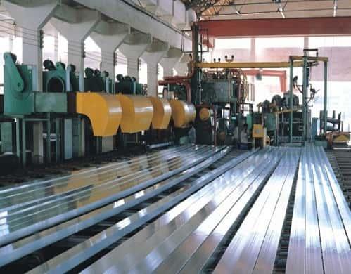 công nghệ sản xuất nhôm xingfa