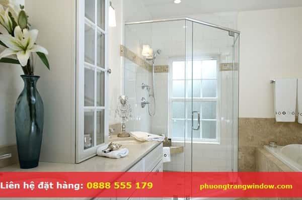 cửa kính phòng tắm giá rẻ hcm