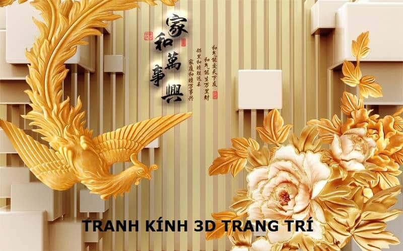 TRANH KÍNH 3D