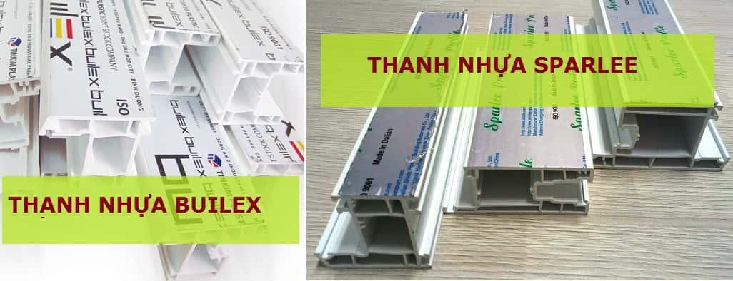 Thanh nhựa uPVC hệ Châu Á thông dụng nhất hiện nayThanh nhựa uPVC hệ Châu Á thông dụng nhất hiện nay