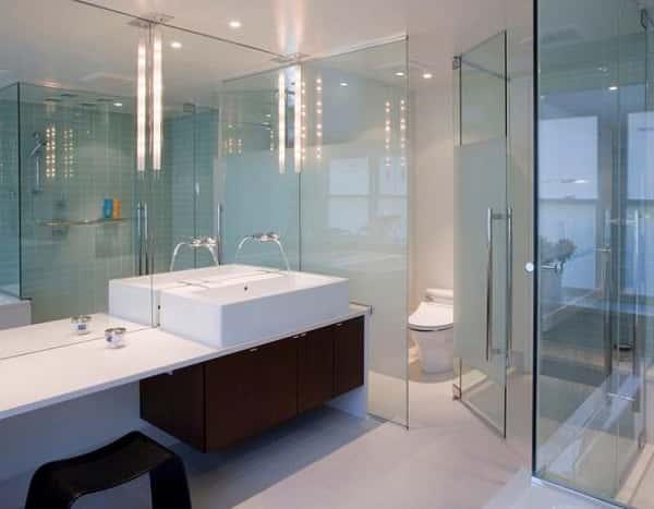 kính cường lực phòng tắm