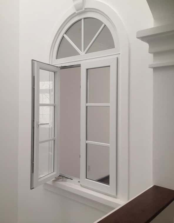 Mẫu cửa sổ 2 cánh mở quay