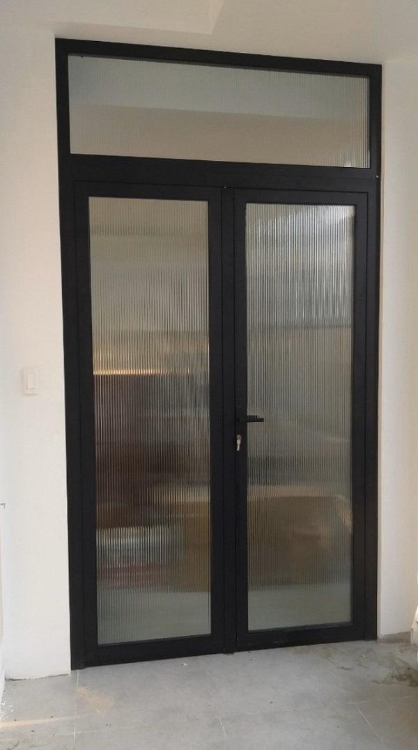 Mẫu cửa nhôm xingfa phòng ngủ