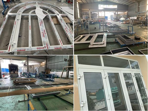 Quy trình sản xuất và lắp cửa Xingfa