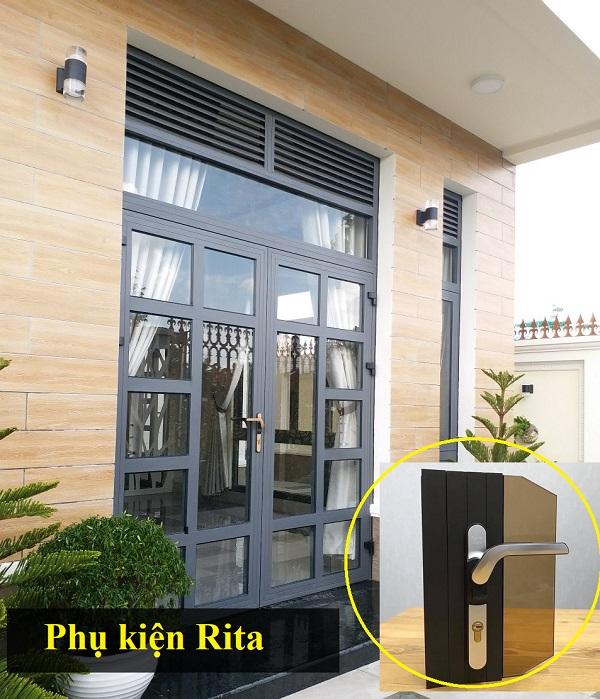 phụ kiện cửa nhôm hãng Rita