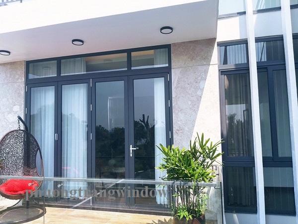 thiết kế và thi công cửa nhôm Xingfa tại Nha Trang